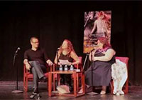 Cassandra Clare with Jodi Picoult and Kyle van Leer